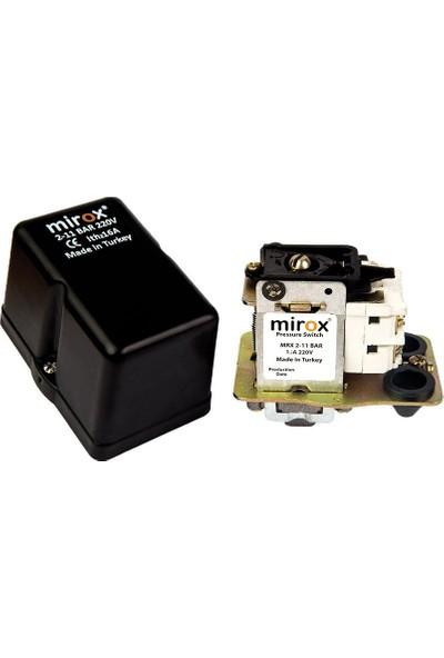 """Mirox Monofaze Basınç Şalteri 220V 1-6 1/4"""""""