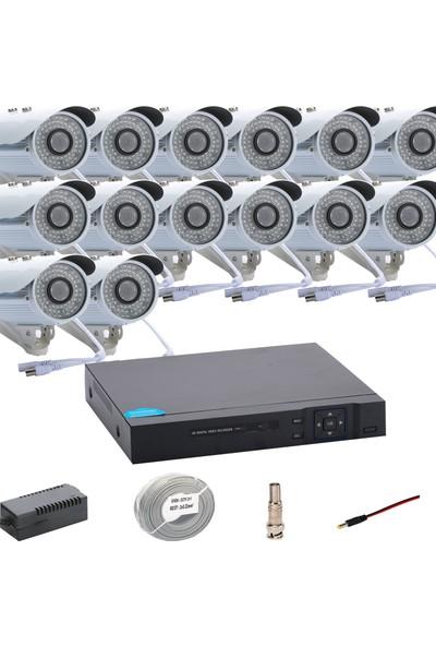Promise 14 Kameralı Set Ahd 1080P Big Led