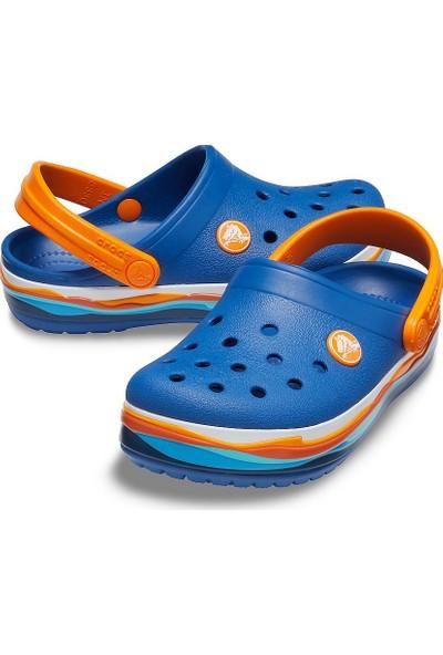 Crocs Crocband Wavy Band Clog Unisex Çocuk Terlik