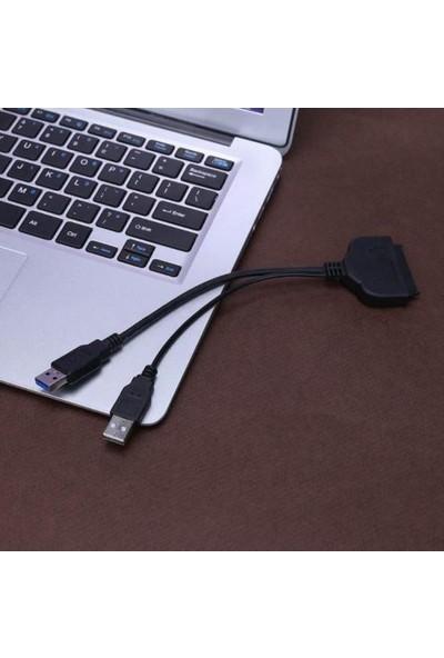 "Kuvars SSD HDD Bağlantı Kablosu USB 3.0 2.5"" Sata Harici Disk Kablo"