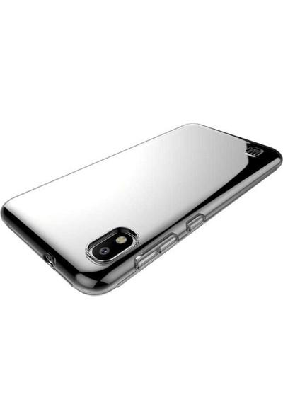 Case 4U Samsung Galaxy A10 Kılıf Süper Silikon Arka Kapak Şeffaf