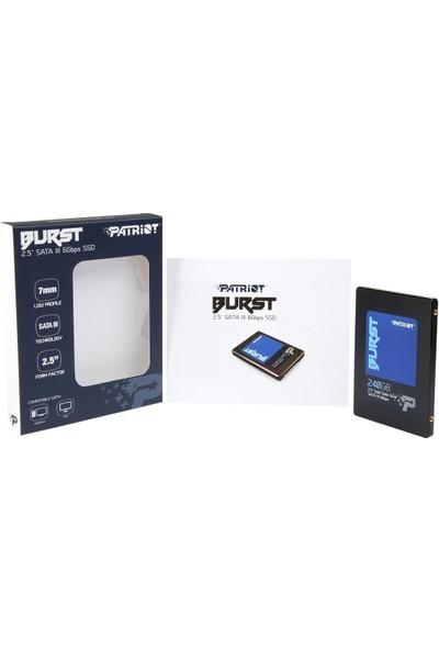 "Patriot SSD 240GB Burst 2.5"" Sata 3 555/500 Mb/S Pbu240Gs25Ssdr"