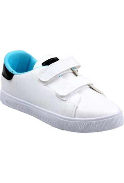 Papuç City Erkek Çocuk Beyaz Günlük Spor Ayakkabı