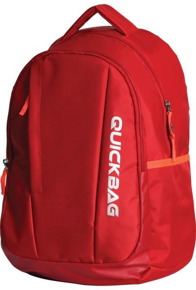 Quickbag Okul Sırt Çantası Florıda Kırmızı Q3034