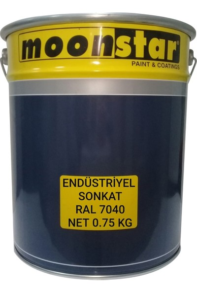 Moonstar Umut Boya Endüstriyel Boya Sonkat Ral 7040