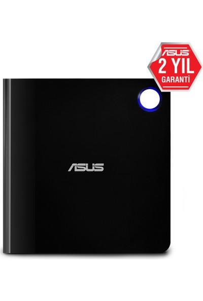 Asus SBW-06D5H-U USB 3.1 Harici Ultra İnce Blu-Ray Yazıcı Siyah