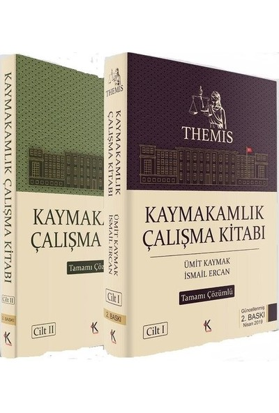 Themis Kaymakamlık Çalışma Kitabı (2 Cilt) - Ümit Kaymak