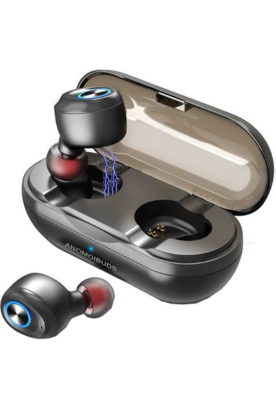 Schulzz Anomoibuds Kablosuz Bluetooth Mikrofonlu Kulaklık V5.0