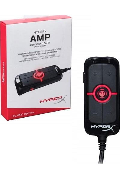 Kingston HyperX 7.1 AMP Surround USB Ses Kartı HX-USCCAMSS-BK