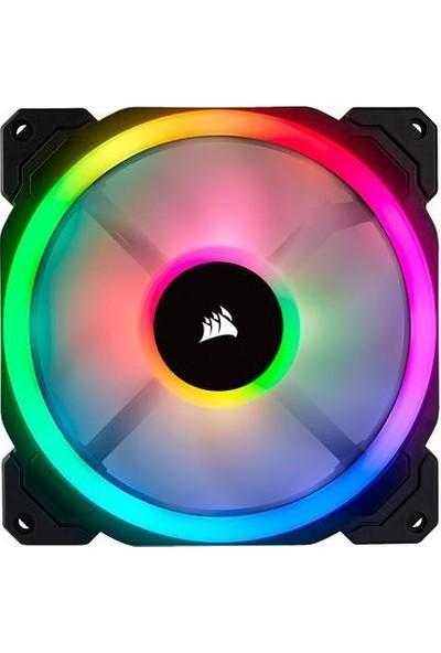 Corsair CO-9050074-WW LL140 RGB 140mm Dual Light Loop RGB LED PWM 2 Kasa Fanı