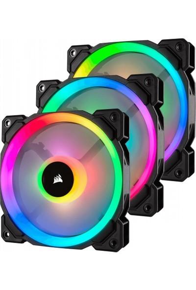 Corsair CO-9050072-WW LL120 RGB 120mm Dual Light Loop RGB LED PWM 3 Kasa Fanı