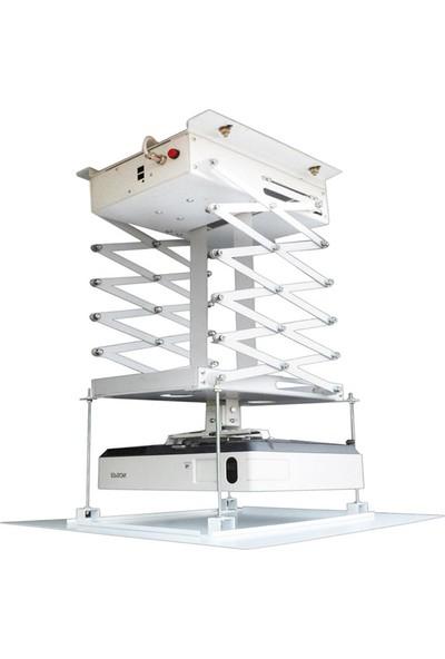 Codegen COD-MPL20 Ayarlanabilir Motorlu Uzaktan Kumandalı Projeksiyon Lift Asansör