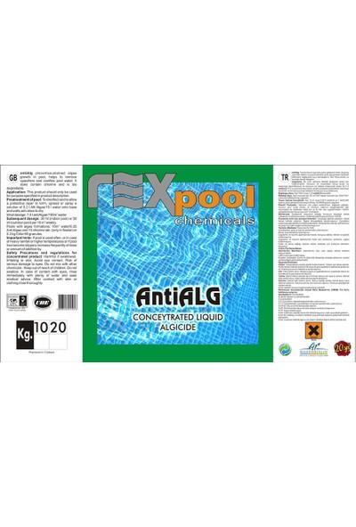 Rexpool Antialg Konsantre Yosun Önleyici 10 kg