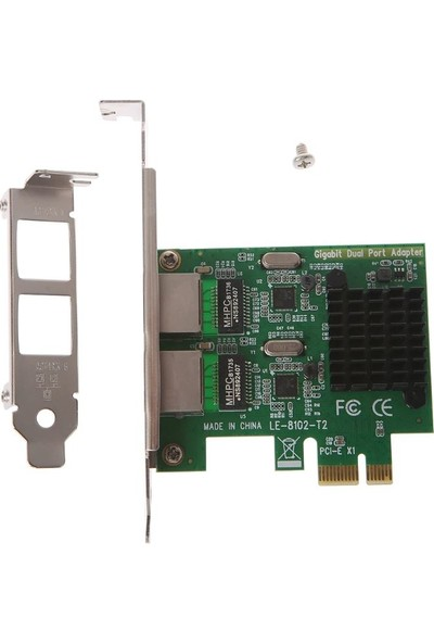 Open Smart 2 Port Gigabit Lan PCI Express Kart