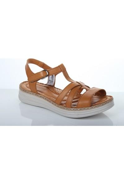 Missmamma 8612 Kadın Yazlık Deri Sandalet