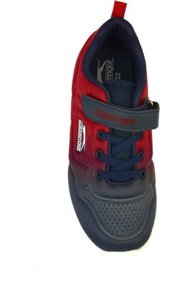 Slazenger Fulk Spor Çocuk Ayakkabı Lacivert / Kırmızı