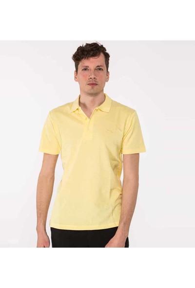 Slazenger Salvator Erkek T-Shirt Sarı