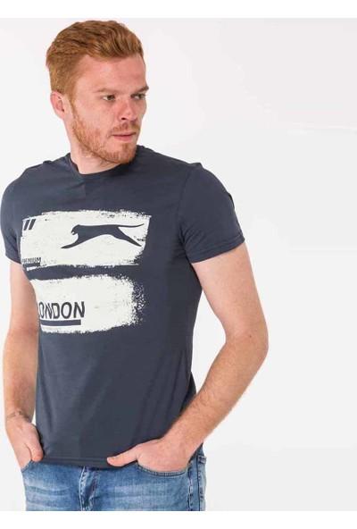 Slazenger Tamıko Erkek T-Shirt Lacivert