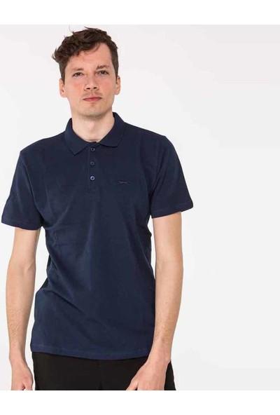 Slazenger Salvator Erkek T-Shirt Lacivert