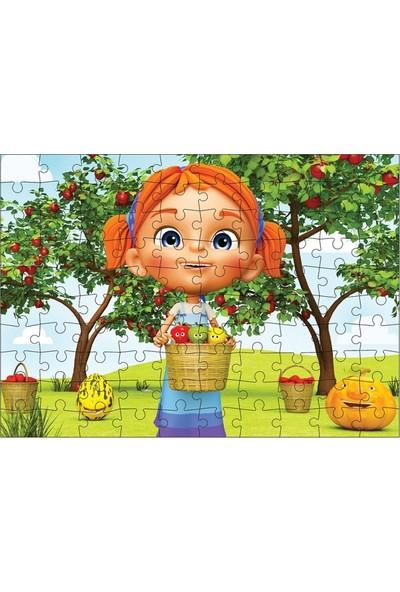 Adeland Trt Elif'in Düşleri Kutulu Puzzle 100'lü
