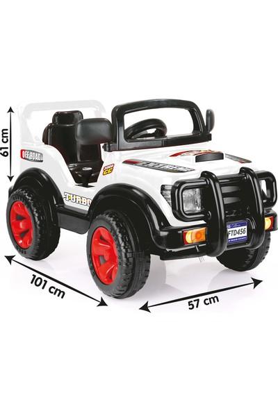 Baby Toys Storm Beyaz Uzaktan Kumandalı Akülü Araba