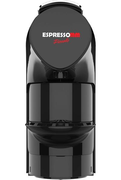 ESPRESSOMM Piccolo Kapsül Kahve Makinesi Siyah - Nespresso Uyumlu