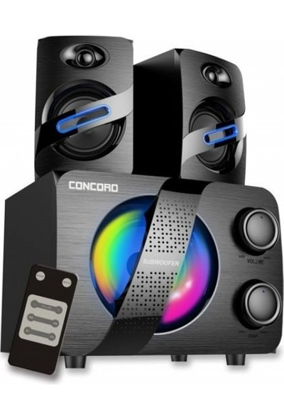 Concord C-792 | Bt | Tf | Usb | Fm | 2+1 Ses Sistemi Bass+Tiz Multimedia