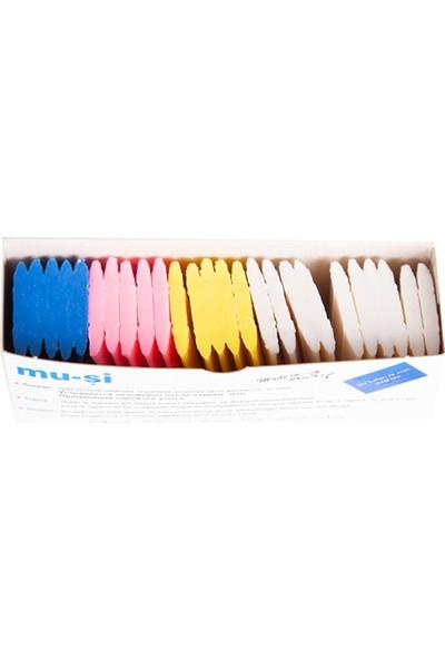 Muşi Buhar İle Uçan Çizgi Taşı Renkli 25 Adet