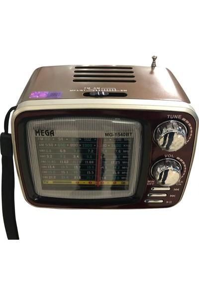 Mega Nostaljibluetooth Fm Radyo