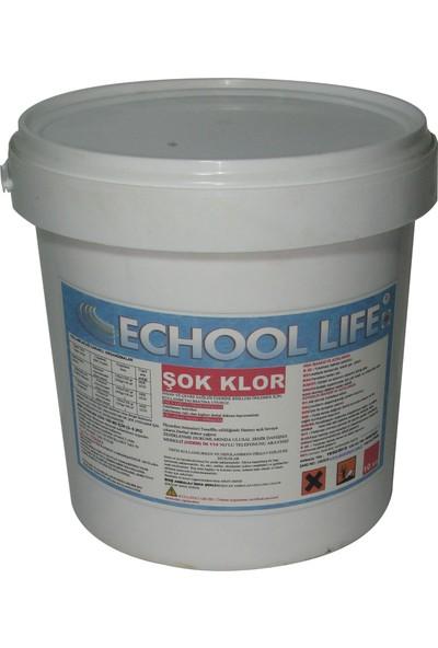 Echool Li̇fe Şok Klor Stabilizatörsüz Hızlı Çözünen 10 Kg