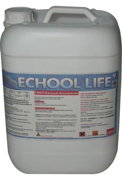 Echool Li̇fe Foot/Cl Ayak Dezenfektanı 10 Kg
