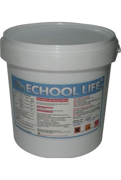 Echool Li̇fe Tcı/G90 Granül Klor 10 Kg Acid Tcca 91