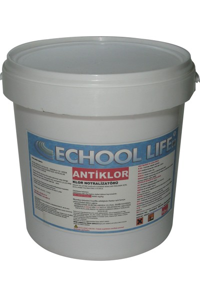 Echool Li̇fe Anti Klor Notralizatörü 10 Kg
