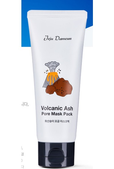 Seohwabi Volkanic Ash Pore Mask - Volkanik Kore Kil Maskesi 120Gr