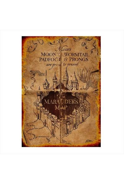 Tablomega Ahşap Tablo Nostaljik Harry Potter Tablosu