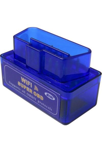 Elm 327 V1.5 Obd2 WiFi Özellikli Apple Telefonlar İçin Arıza Tespit Cihazı