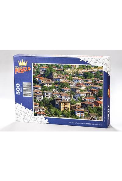 King Of Puzzle Safranbolu Evleri Ahşap Puzzle 500 Parça (SY02-D)