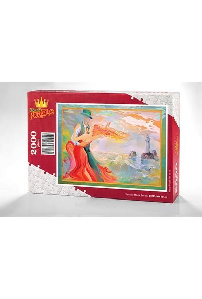 King Of Puzzle Tango Ahşap Puzzle 2000 Parça (DM51-MM)