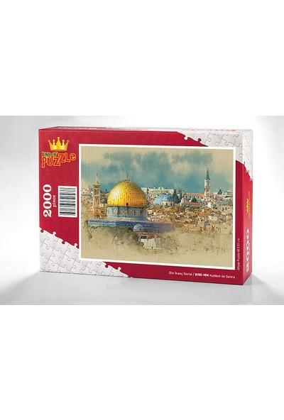 King Of Puzzle Kubbet-üs Sahra Ahşap Puzzle 2000 Parça (DI50-MM)