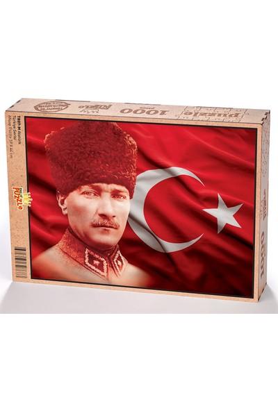 King Of Puzzle Atatürk Ahşap Puzzle 1000 Parça (TR07-M)