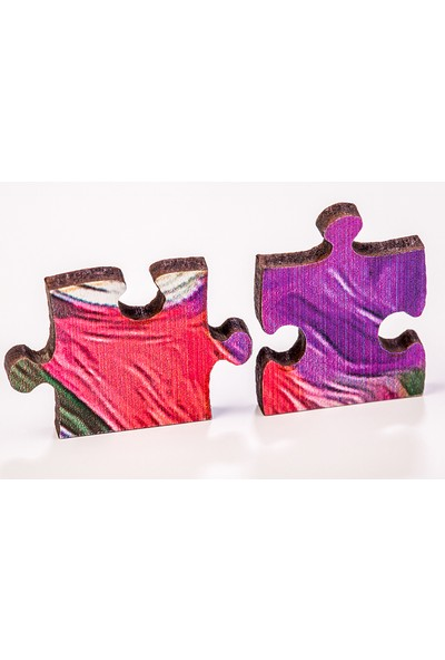 King Of Puzzle Hindiba ve Zen Taşları Ahşap Puzzle 1000 Parça (NT01-M)