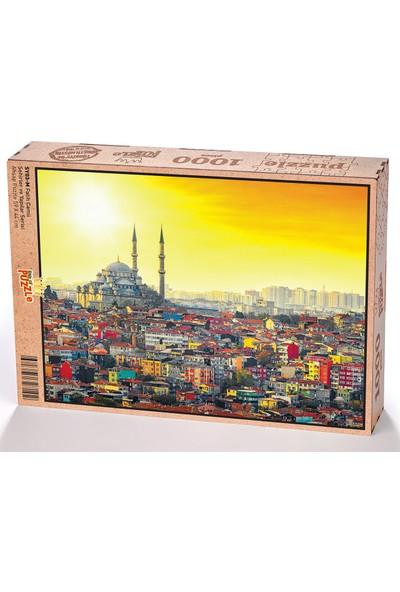 King Of Puzzle Fatih Camii Ahşap Puzzle 1000 Parça (SY03-M)