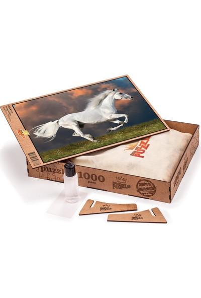 King Of Puzzle Kırat Ahşap Puzzle 1000 Parça (HV25-M)