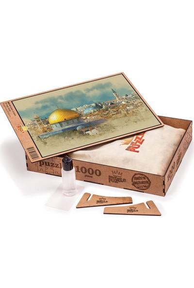 King Of Puzzle Kubbet-üs Sahra Ahşap Puzzle 1000 Parça (DI01-M)