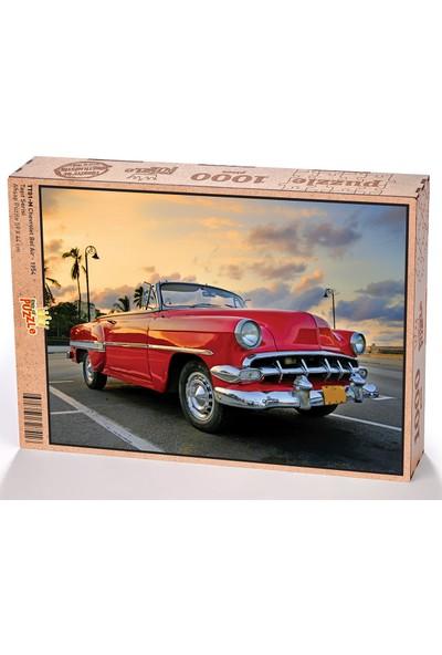 King Of Puzzle Chevrolet Bel Air - 1954 Ahşap Puzzle 1000 Parça (TT01-M)