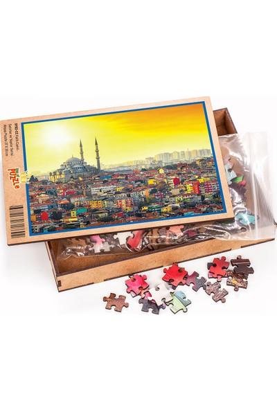 King Of Puzzle Fatih Camii Ahşap Puzzle 204 Parça (SY02-CC)