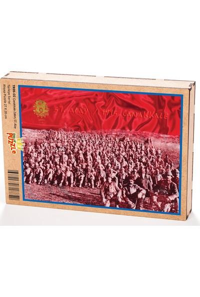 King Of Puzzle Çanakkale Zaferi 57. Alay Ahşap Puzzle 204 Parça (TR05-CC)