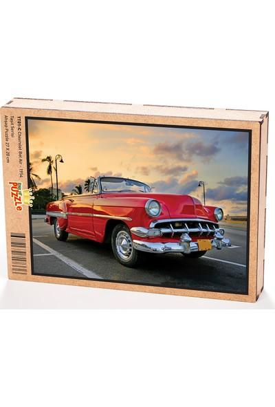 King Of Puzzle Chevrolet Bel Air - 1954 Ahşap Puzzle 108 Parça (TT01-C)