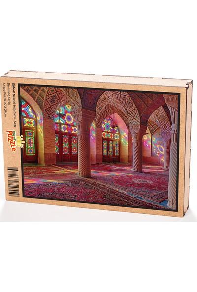 King Of Puzzle Nasır el-Mülk Camii - Şiraz Ahşap Puzzle 108 Parça (DI04-C)