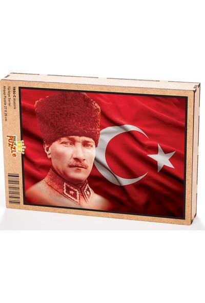 King Of Puzzle Atatürk Ahşap Puzzle 108 Parça (TR04-C)